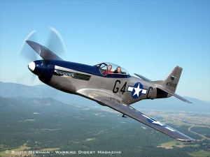 "1944 NORTH AMERICAN AVIATION P-51D ""MUSTANG"""