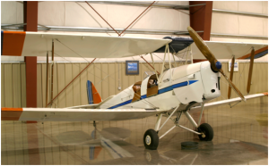 "1942 DeHAVILLAND DH-82A ""TIGER MOTH II"""